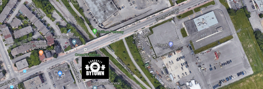 CrossFit Bytown Location (Top View)